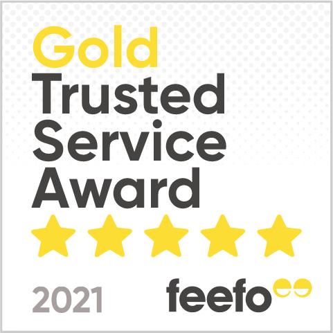 LAC Feefo Gold Award