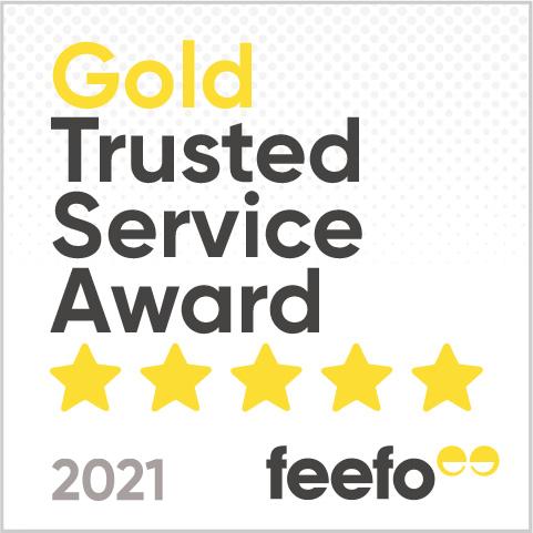 LAC Feefo Gold Award